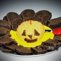 Jack O Lantern Cheese Ball