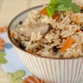 Rice Cooker Japanese Chicken Rice with Vegetables