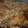 Jodie's baked apple crisp