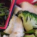 John Dory with Chinese Broccoli