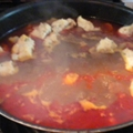 June Meyers Authentic Hungarian Goulash (Gulyas Leves)