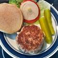 Kalamata-Feta Turkey Burgers
