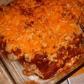 Kats  version of Chicken Enchiladas