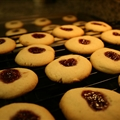Kid's Pb & J Thumbprint Cookies