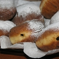 Krafne (Croatian doughnuts) 