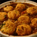Lamb Casserole with Parmesan and Parsley Dumplings