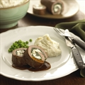 Lamb Roulade with Fresh Goat Cheese