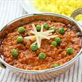 Lamb with Potatoes and Peas (Kheema)