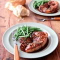 Lamb with rosemary and port