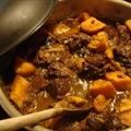 Lamb/beef and fruit tagine
