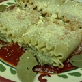 Lasagna Rolls with spinache