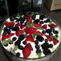 Lemon Curd Trifle with Fresh Berries