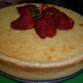 Lemon Goat Cheese Cake