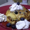 Lemon-Ricotta Blueberry Pancakes & Blueberry Syrup