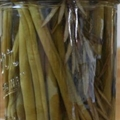 LEMON ROSEMARY PICKLED GREEN BEANS
