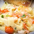 Lemon Shrimp Scampi Pappardelle