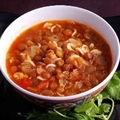 Lentil and Tomato Soup (Shawrabat 'Ada ma' Banadoora)