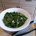 Lindas Special Spinach Salad (1+)