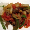 Lomo Saltado (South American Stir-Fried Steak & French Fries)