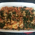 Low-Calorie Turkey-Spinach Lasagna