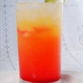 Low Carb Tequila Sunrise