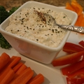 Low Fat Basil and Sun-dried Tomatoes Dip