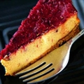 Low Fat Cranberry Cheesecake