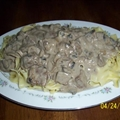 Mama Delilah's Beef Stroganoff
