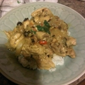Mango Chicken Curry over Citrus Cilantro rice