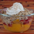 Mango Cranberry Crisp
