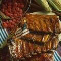 Maple-Mustard Glazed Spareribs