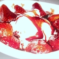 Marinated Strawberries with Mascarpone Cream