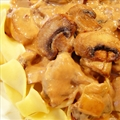 Mary's Beef Stroganoff