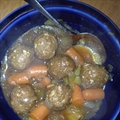 Meatball Stew - Crockpot