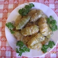 Meatless Holubtsi (Cabbage Rolls)