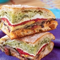Mediterranean Pressed Picnic Sandwich