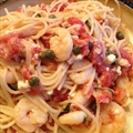 Mediterranean Shrimp and Pasta