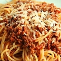 Mediterranean Spaghetti Bolognaise