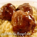 Mel's Kitchen Cafe Teriyaki Meatballs