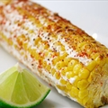 Mexican Grilled Corn with Crema