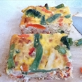 Mixed veggie fritata