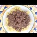 Mock Beef Stroganoff