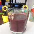 Z's Morning Fruit Smoothie with Fresh Spinach