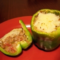 Motown Stuffed Peppers (Vegetarian)