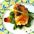 Muffis Chicken Breasts stuffed with Figs and Goat Cheese
