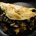 Mushroom and Cheese Omelette
