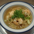 Nautico's Indonesian Shrimp Soup with Noodles