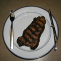 Nautico's Unadorned Grilled USDA Prime NY Strip Steak