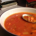 Navy Bean & Bacon Soup