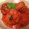 Nicki and Cathy's Homemade Meatballs and Sauce